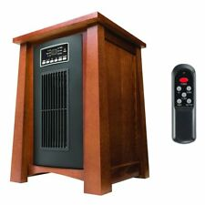 Haier 1500 Watt 5100 BTU Infrared Space Heater w/Real Oak Finish & Remote