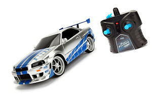 Jada Toys 253203018 Fast And Furious-RC Nissan Skyline GTR-Remote Control-1:24