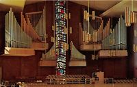Valparaiso Indiana 1960s Postcard Valparaiso University Memorial Chapel