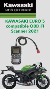 KAWASAKI MOTORCYCLE 6 PIN DIAGNOSTIC TOOL, OBD  FI SCANNER 2021 Euro 5
