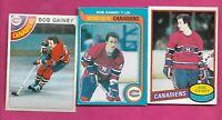 1978 1979 1980 OPC CANADIENS BOB GAINEY CARD (INV# C3419)