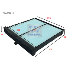 WESFIL CABIN AIR FILTER MAZDA2 2014-2019 CX-3 WACF0212