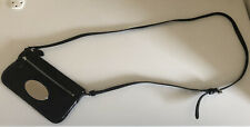 Mulberry Bag Black Patent Leather VGC Dust Bag Cross Body Long adjustable Strap