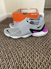 Nike Free RN Flyknit 3.0 Run UK 9.5 Atmosphere Grey/Black AQ5707-009