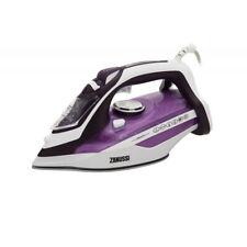 More details for zanussi zsi-9270-pk iron dry and steam ceramic soleplate 2800 w purple and white