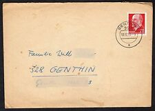 East Germany: Cover with 20pf Walter Ulbright stamp