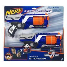 Brand New NERF Elite STRONGARM Dart BLASTER 2 Pack