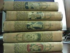 10 of 20 Volumes Young Folks' Library, Third Edition, 1902 HC