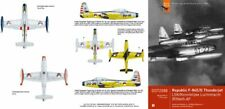 Dutch Decal 1/72 Republic F-84E/F-84G Thunderjet KLu # 72088