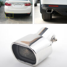 Durable 63mm Stainless Steel Exhaust Tail Rear Muffler Tip Pipe For Car SUV Auto