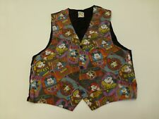 Mickey & Co Womens Size Medium Faded Mickey Mouse Vest Good Condition