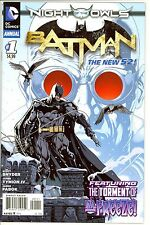 Batman Annual #1 night of the owls NM condition Hi Res Scans