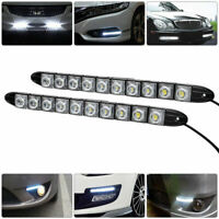 UK Car 10 LED Daytime Running Light DRL Daylight Fog Lamp Day Lights Waterproof