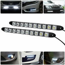 UK Car 10 LED Daytime Running Light DRL Daylight Fog Lamp Day Lights Waterproof