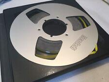 "Scotch 10 1/2"" Metal Take-up Reel Recording Tape BOXED"