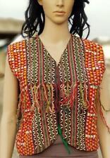 Banjara Tribal Boho Ethnic Kuchi Belly Dance Embroidery Patchwork Coat Jacket