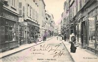 CPA 71000 MACON Rue Carnot commerces Edt H ROMAND ca1907