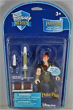 Disney Heroes Store Exclusive PETER PAN Action figure Light Sword Treasure Chest