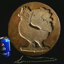 """13.5"""" Antique Folk Art Carved Wooden Mold Springerle - Bavarian Biscuit, Cookie"""