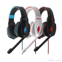 EACH G4000 3.5mm USB New Gaming Headset LED Stereo Headphone with Mic for PC