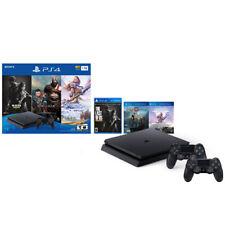 PlayStation 4 Slim 1TB solamente en PS4 Consola Paquete + Extra DualShock 4 Controlador