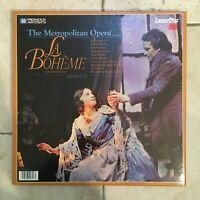 Puccini _ La Bohème _ 2 X LaserDisc _ 1982 Pioneer USA _near mint _ RARE