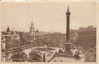 Postcard - London - Trafalgar Square (W B L. London)