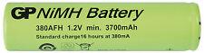 Batteria Ricaricabile Ni-Mh GP380AFH 1,2V 3800mAh size 7/5AF GP BATTERIES