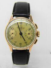 Montre chronographe BREITLING PREMIER 789 en or 18k vintage chronographe