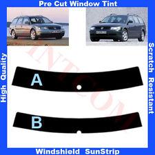 Pre Cut Window Tint Sunstrip for VW Passat B5 5 Doors Estate 1998-2006 Any Shade