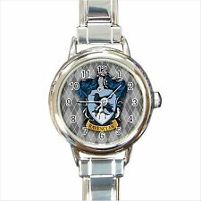NEW* HOT HARRY POTTER RAVENCLAW HOGWARTS SCHOOL Round Italian Charm Watch
