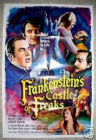 FRANKENSTEIN'S CASTLE OF FREAKS - MINT ORIGINAL 1 SHEET