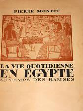 LA VIE QUOTIDIENNE EN EGYPTE au Temps des Ramsès NIL