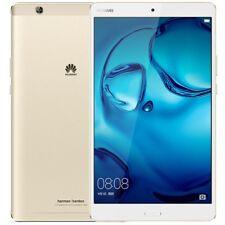 "Tablette Huawei MediaPad M3 Gold 64Go + 4Go RAM écran 8.4"" 2K 4G LTE NEUVE"