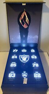 2021 STH Las Vegas Raiders Welcome Gift Hall Of Fame Dedication Brand New Box 🔥