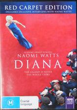 Diana | Naomi Watts | DVD | 2 Disc Set | Red Carpet Edition