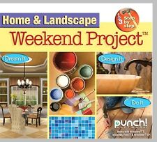HOME AND LANDSCAPE WEEKEND PROJECT. BRAND NEW DVD JEWEL CASE PC. FREE SHIPPING!