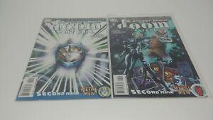 Blackest Night: Doom Patrol #4 & 5 Bundle