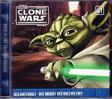 CD Star Wars - The Clone Wars 1 - Der Hinterhalt / Der Angriff der Malevolence