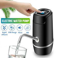 Electric Auto Water Pump USB Rechargeable Gallon Bottle Dispenser Pump Portable