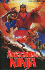 American Commando Ninja DVD Hardbox AVV Kung Fu Martial Arts Lo Gio Taiwan