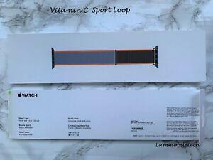 Authentic 100% Apple Watch Vitamin C Sport Loop 44MM.