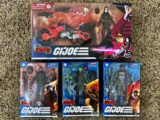 G.I. Joe Classified Cobra Island Baroness, Beach Head, Cobra Trooper, Roadblock