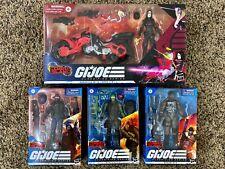G.I. Joe Classified Cobra Island Baroness, Beach Head, Cobra Trooper, Roadblock