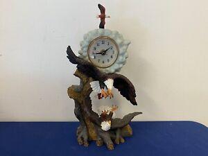 Vintage Elaborate Eagle Clock B1-43