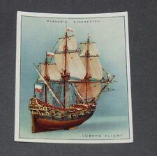 CIGARETTES CARD JOHN PLAYER SHIP-MODELS 1926 N°7 LÜBECK FLIGHT 1690