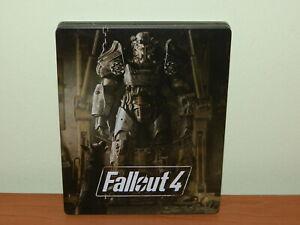 FALLOUT 4 STEELBOOK BOX PS4 PLAYSTATION USATO SICURO