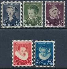 Niederlande Nr. 685-689 postfrisch / **, Voor het Kind 1956 (32240)