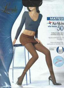 Levante Calze Matisse Hipster Brief Tights Large Black 50 Denier