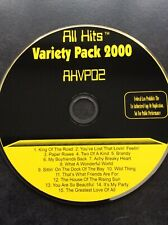 Karaoke CDG Disc - All Hits Variety Pack 2000  - AHVP02